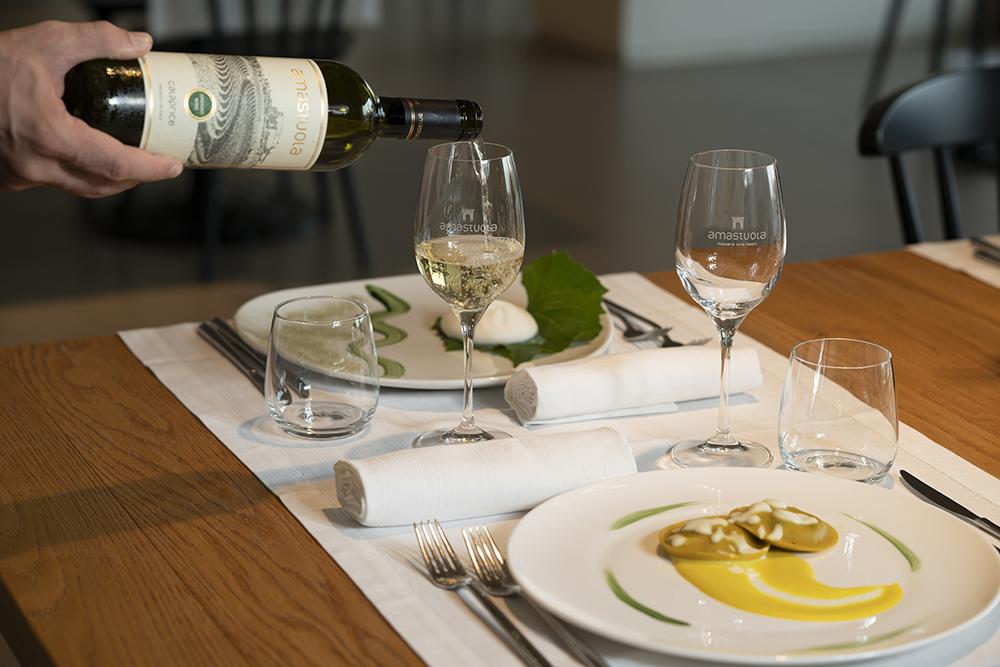 Masseria Amastuola: degustazione vini lunch - dinner