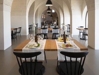 "Masseria Amastuola: ristorante ""Due Arcate"""