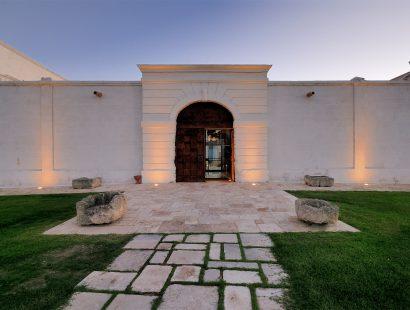 Masseria Amastuola: portale d'ingresso