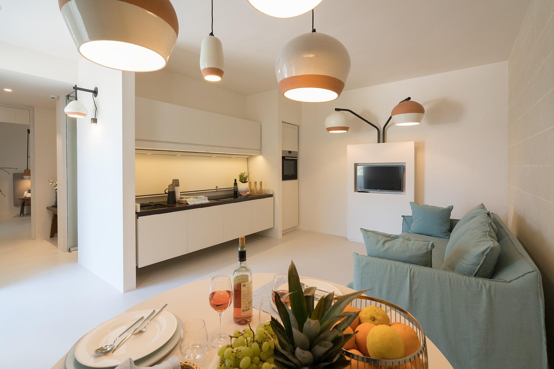 Masseria Amastuola: suite superior con cucina