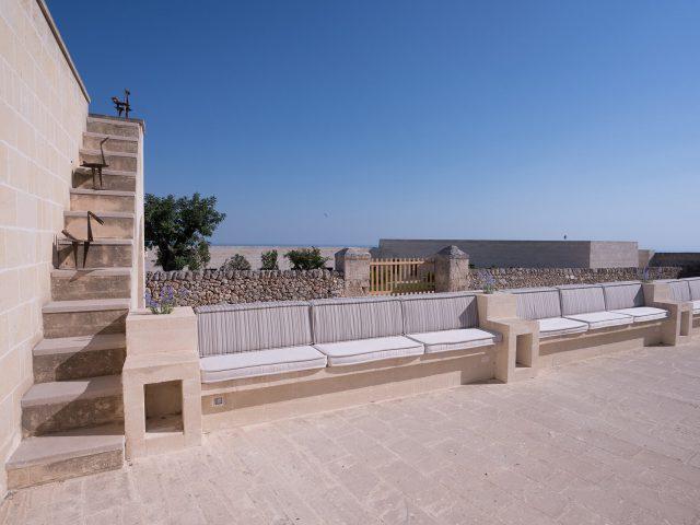 Masseria Amastuola: terrazza