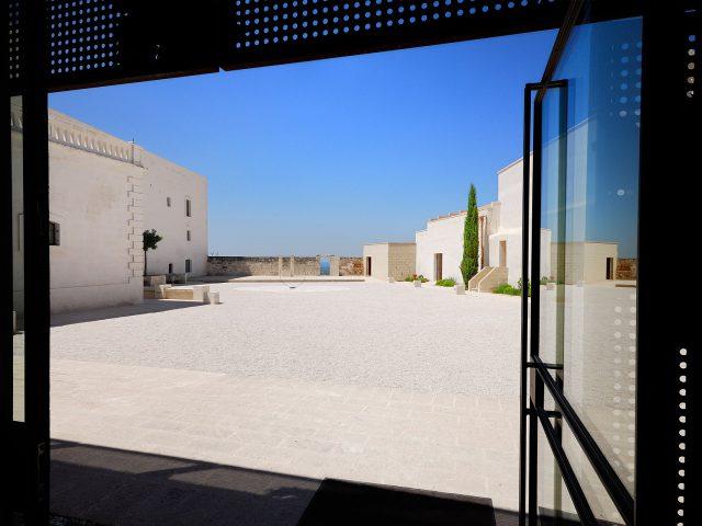 Masseria Amastuola: vista della corte interna